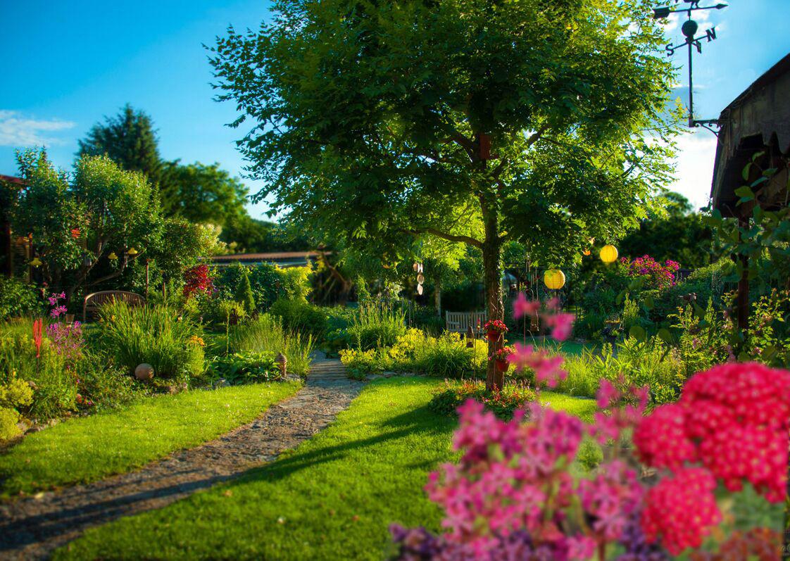 Landgarten Himmelstadt Gästeführer Gartenerlebnis Bayern
