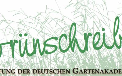 Gästeführer Gartenerlebnis Bayern im Grünschreiber 05/2018
