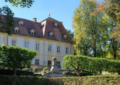 Barockgarten Schloss Oberschwappach