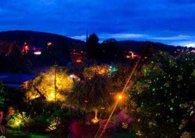 Gärten bei Nacht erleben – Himmelstadt