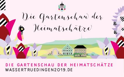 Landesgartenschau in Wassertrüdingen geht noch bis 08. September 2019