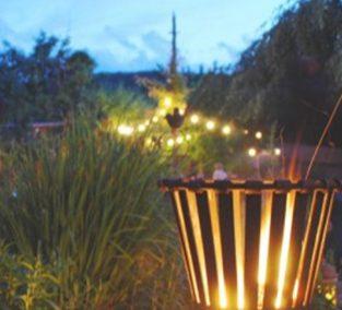 Lichterglanz in Haderner Gärten